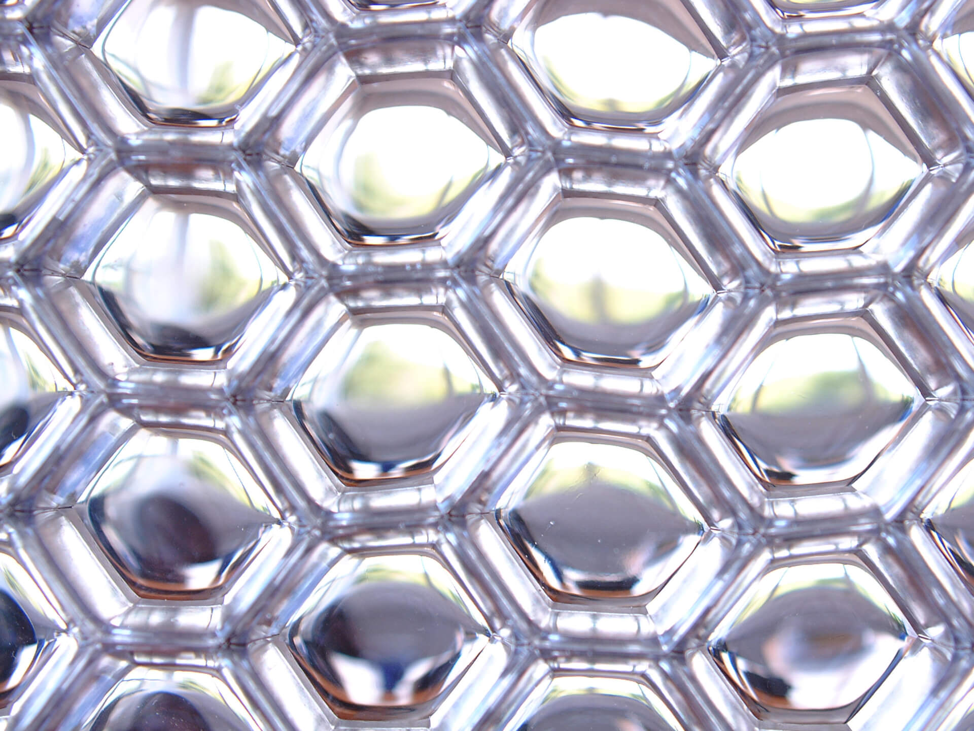 Aluminium Honeycomb Panels - B-Clear cells