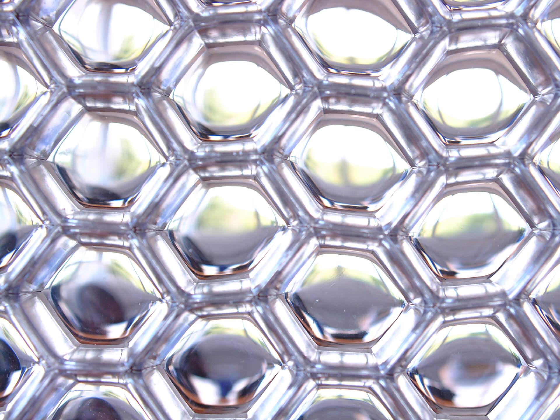 Aluminium Honeycomb Panels - B-Clear cells