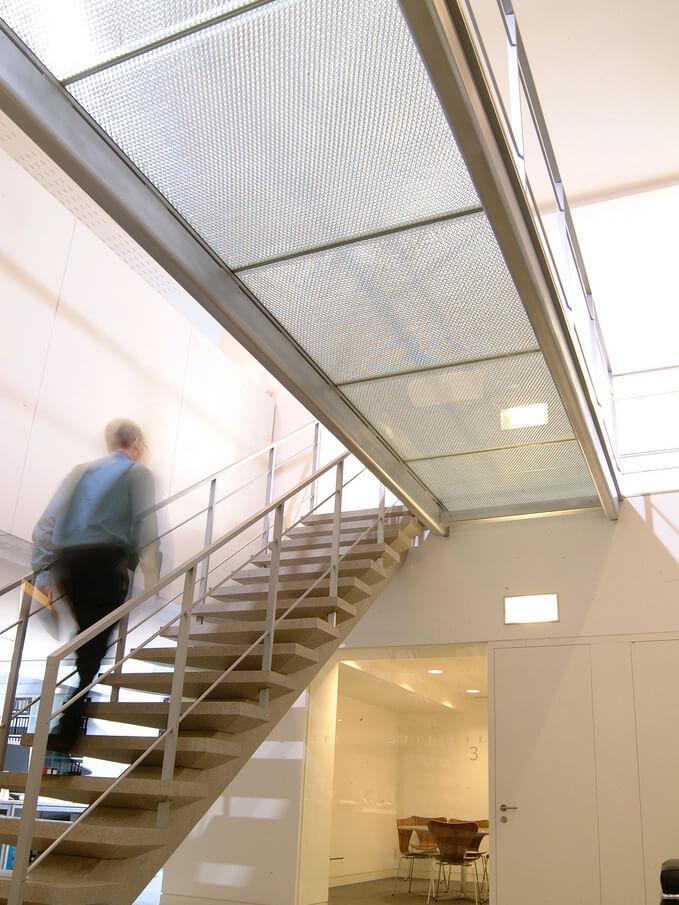 Architectural applications & bespoke furniture - Squire & Partners - Glass Bridge