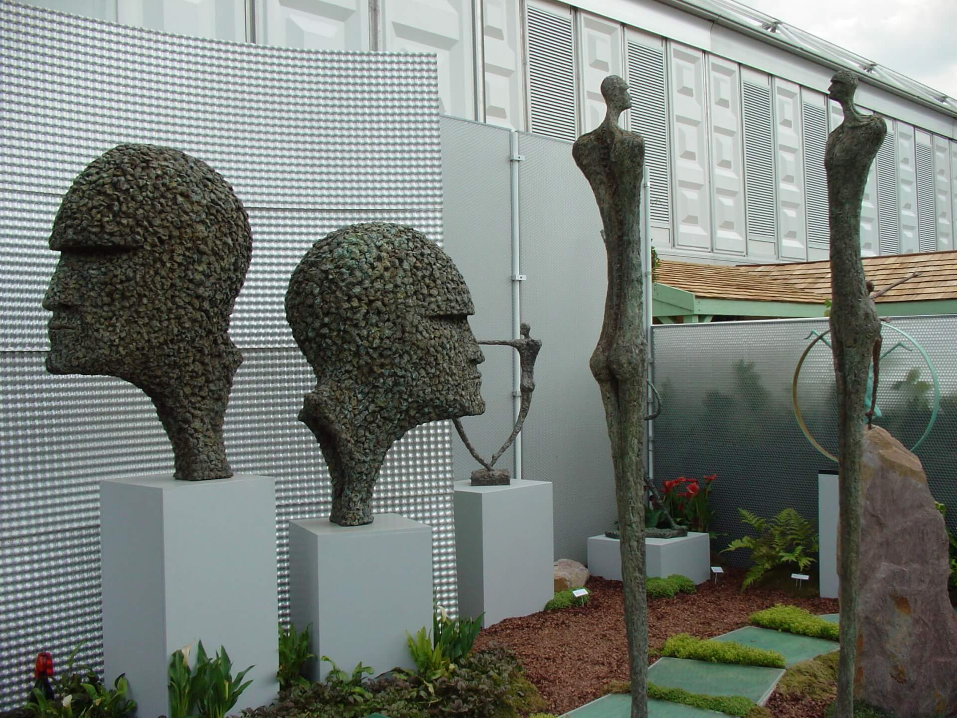 Architectural applications & bespoke furniture - Chelsea Flower Show 2007