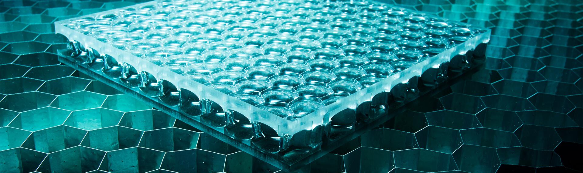 Innovative surface materials header