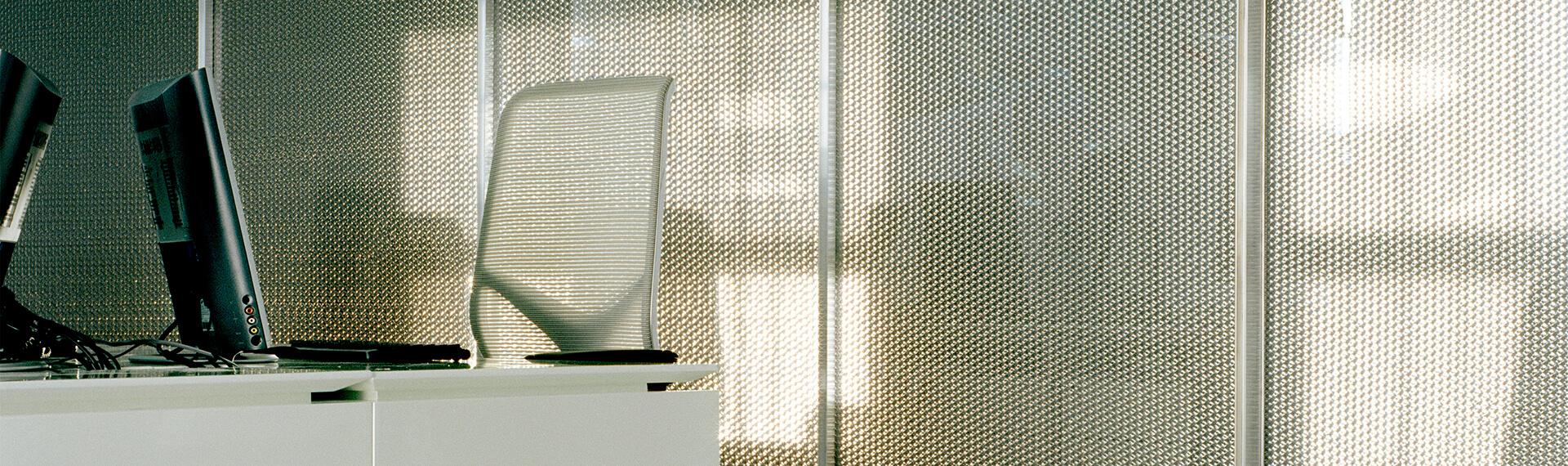 Aluminium honeycomb composite materials header