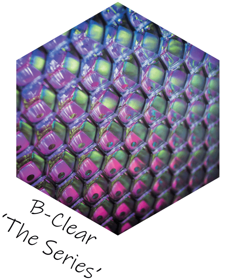 Decorative screen panels - B-Clear The Series
