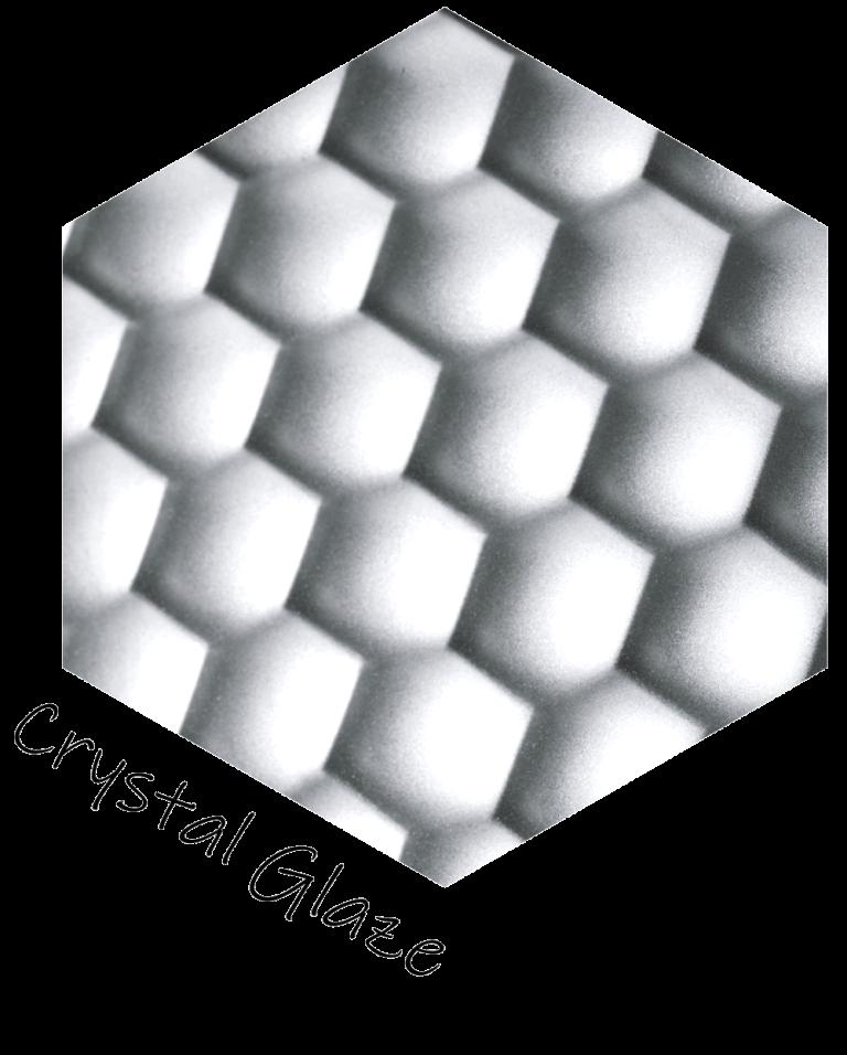 Decorative screen panels - Crystal Glaze