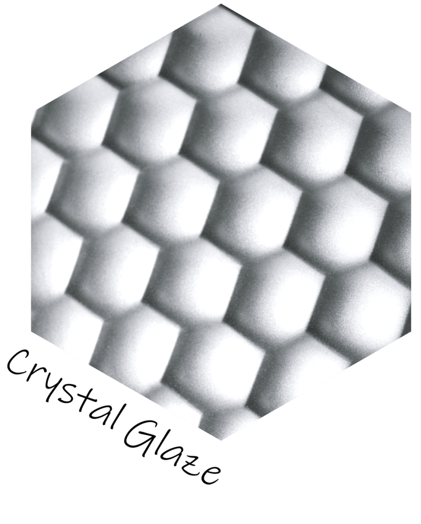 Decorative screen panels - Crystal Glaze