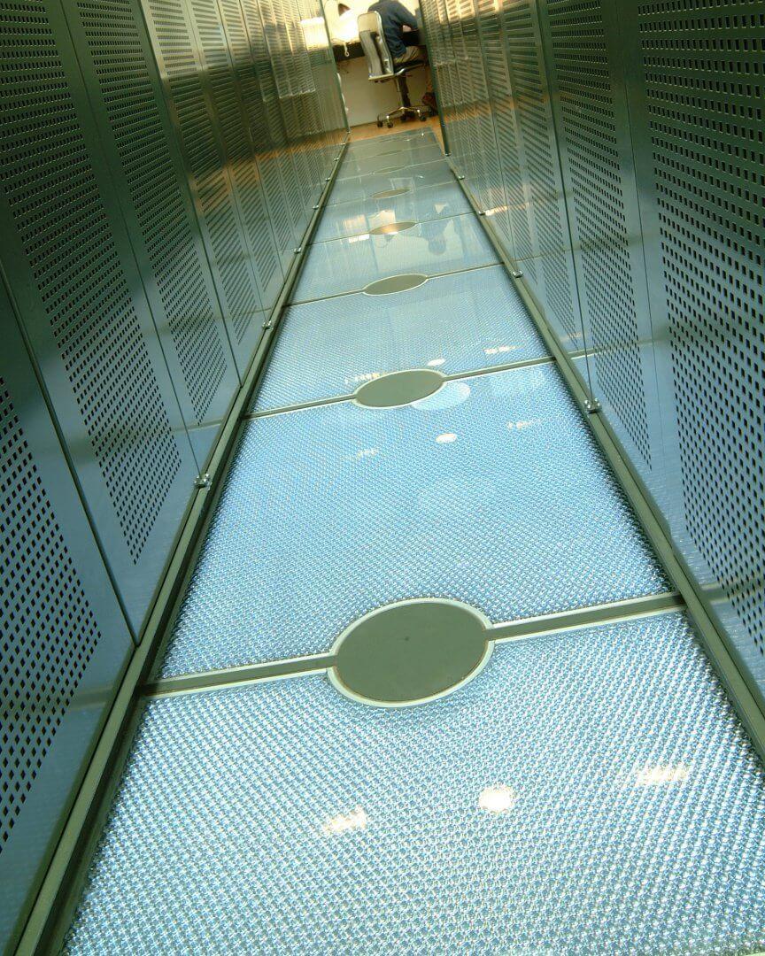 Flooring made using Mykon panels