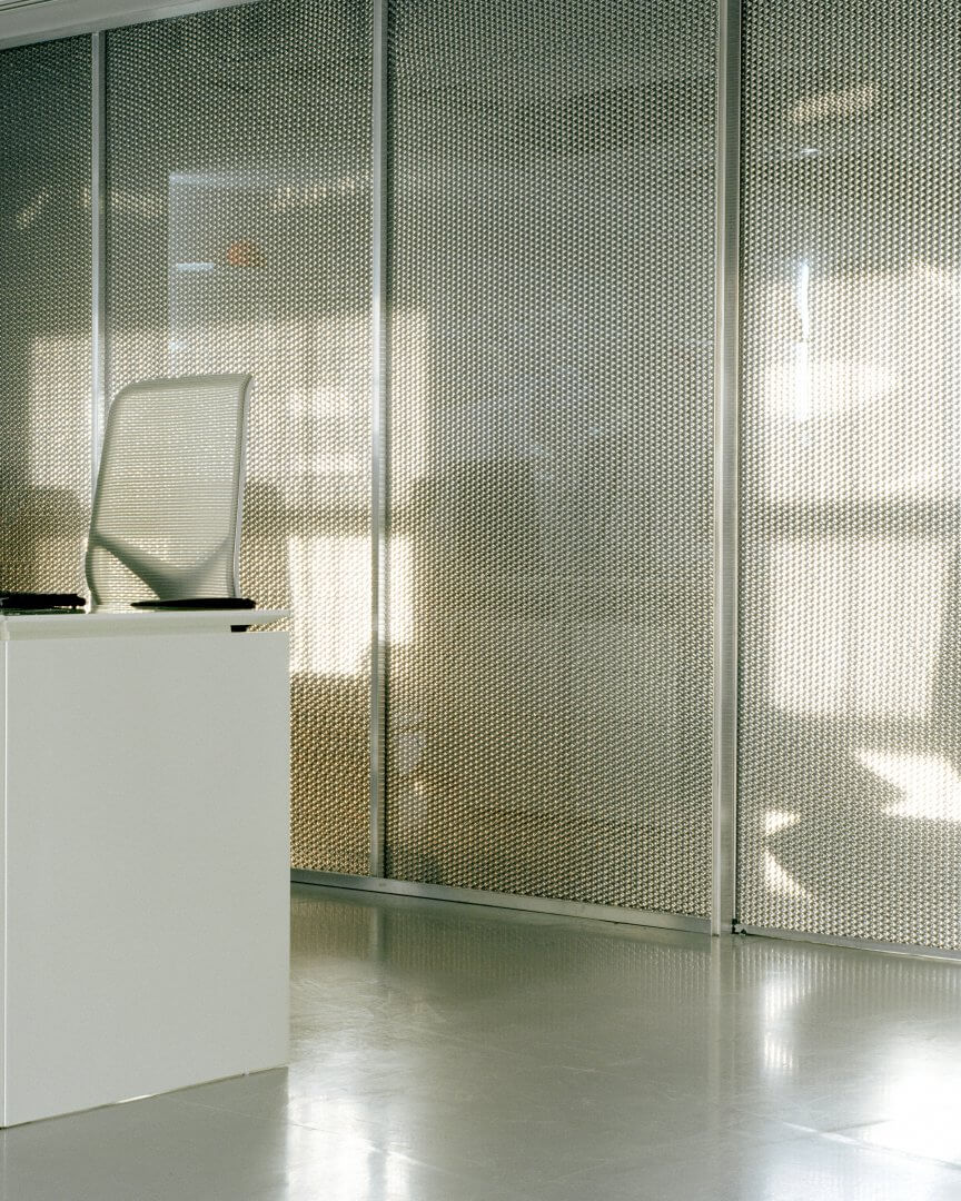Meeting room made using Mykon panels