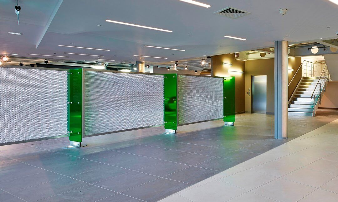 6 ways to use Mykon's toughened glass panels in architecture & interior design applications