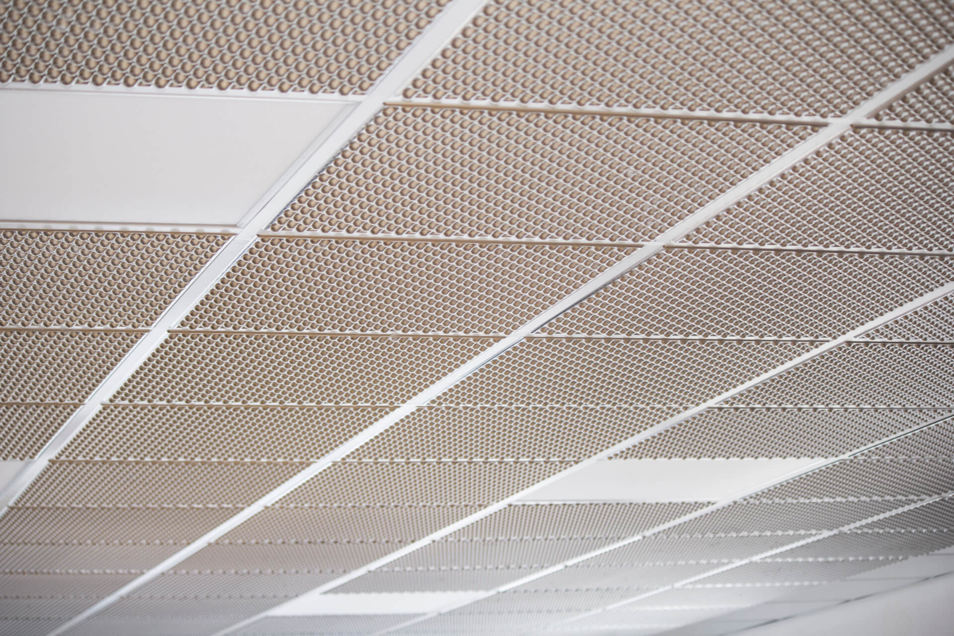 Ceiling panels by Mykon suitable for a range of home and office applications