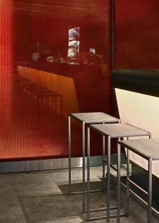 Nino Restaurant using Mykon B-Clear panels