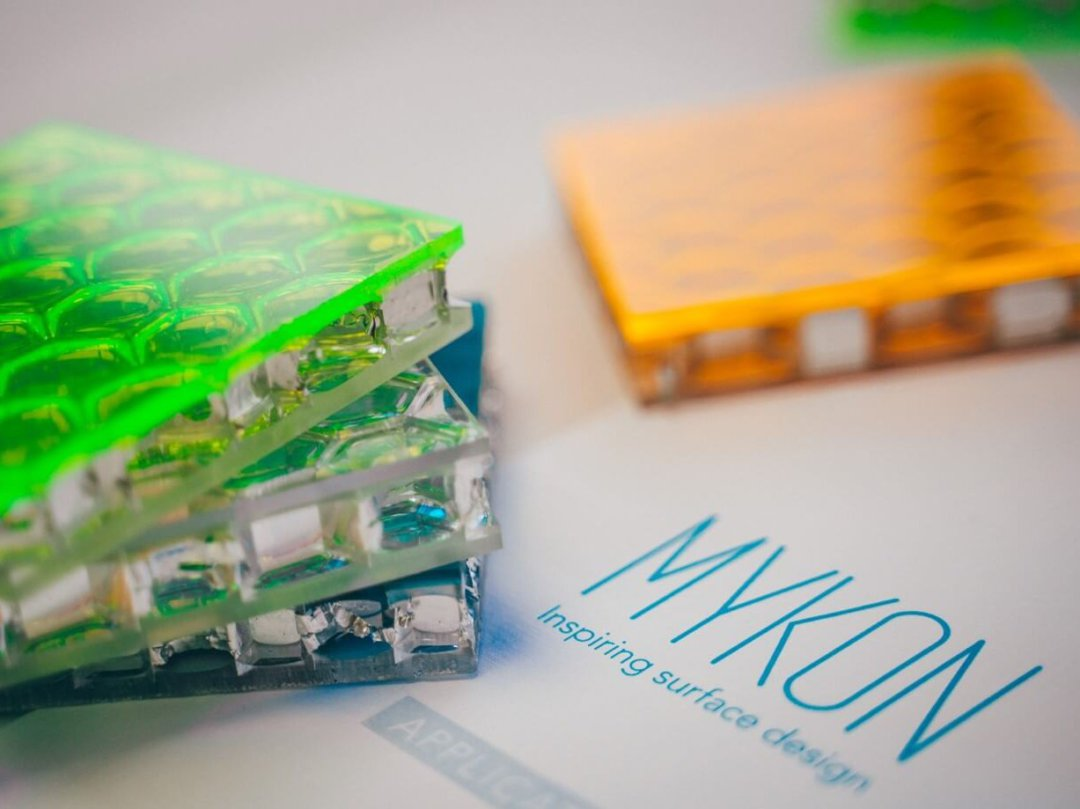 Mykon's new partnership with colab digital material library